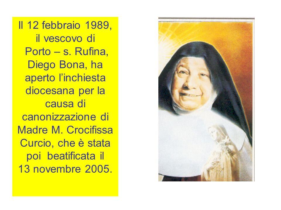 Il 12 febbraio 1989, il vescovo di Porto – s.