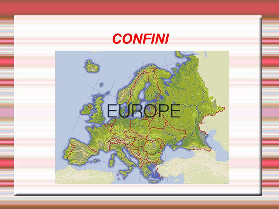 Meridionali: I principali sono il Mar Mediterraneo, il Mar Nero, il Mar d Azov, il Mar di Marmara.