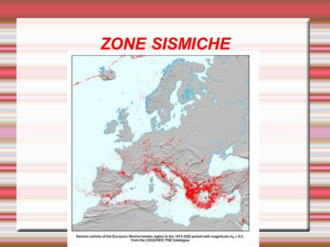 Europa meridionale: Sono disposte ai margini e all interno delle penisole Iberica, Italiana e Balcanica.