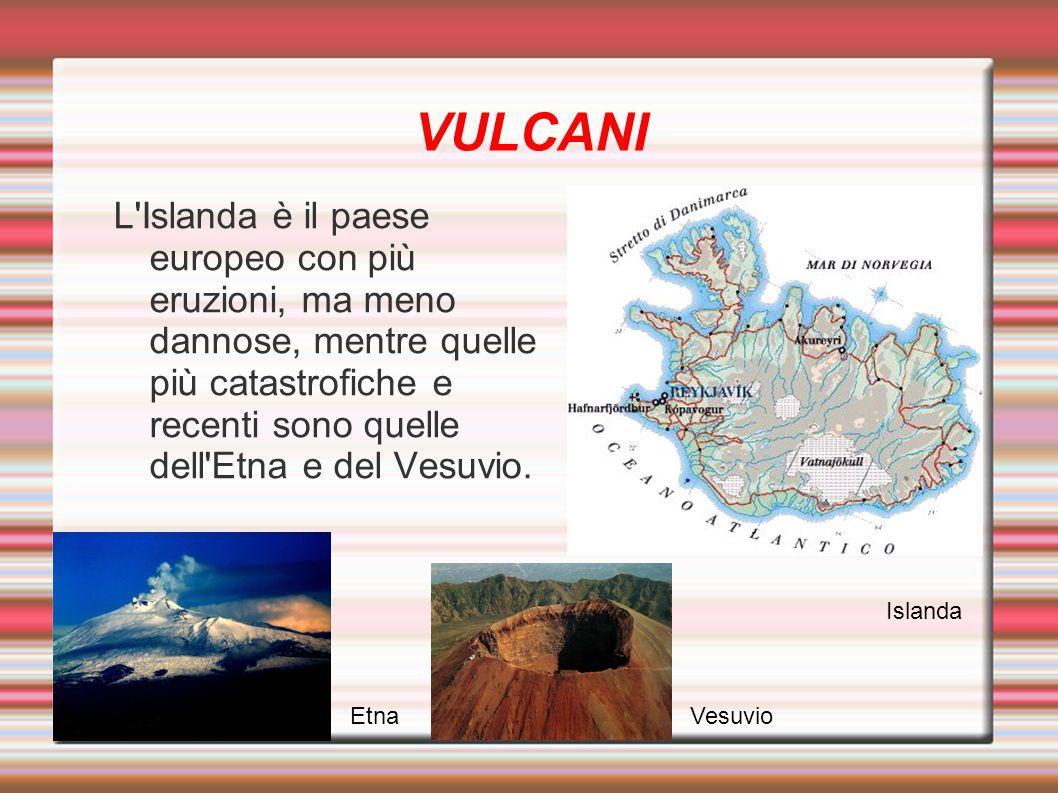 FORMAZIONE E GLACIAZIONI Prima parte d Europa: 600 milioni di anni fa Si hanno lo Scudo baltico e la Piattaforma russa Seconda parte d Europa: tra 400 e 300 milioni di anni fa Si forma la Paleoeuropa Si forma la Catena degli Urali