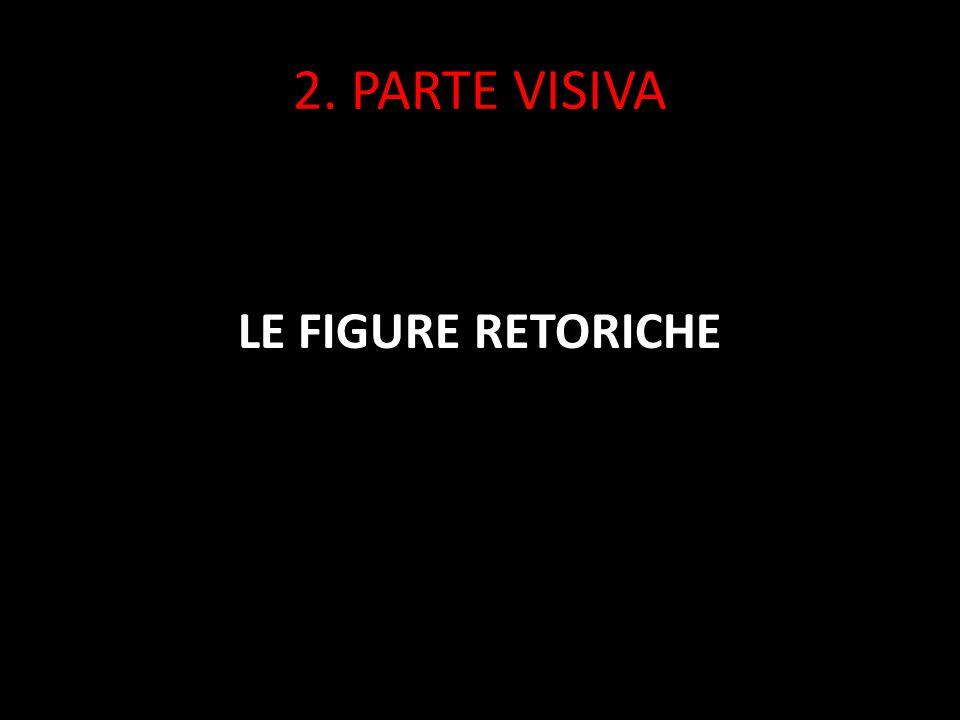 2. PARTE VISIVA LE FIGURE RETORICHE