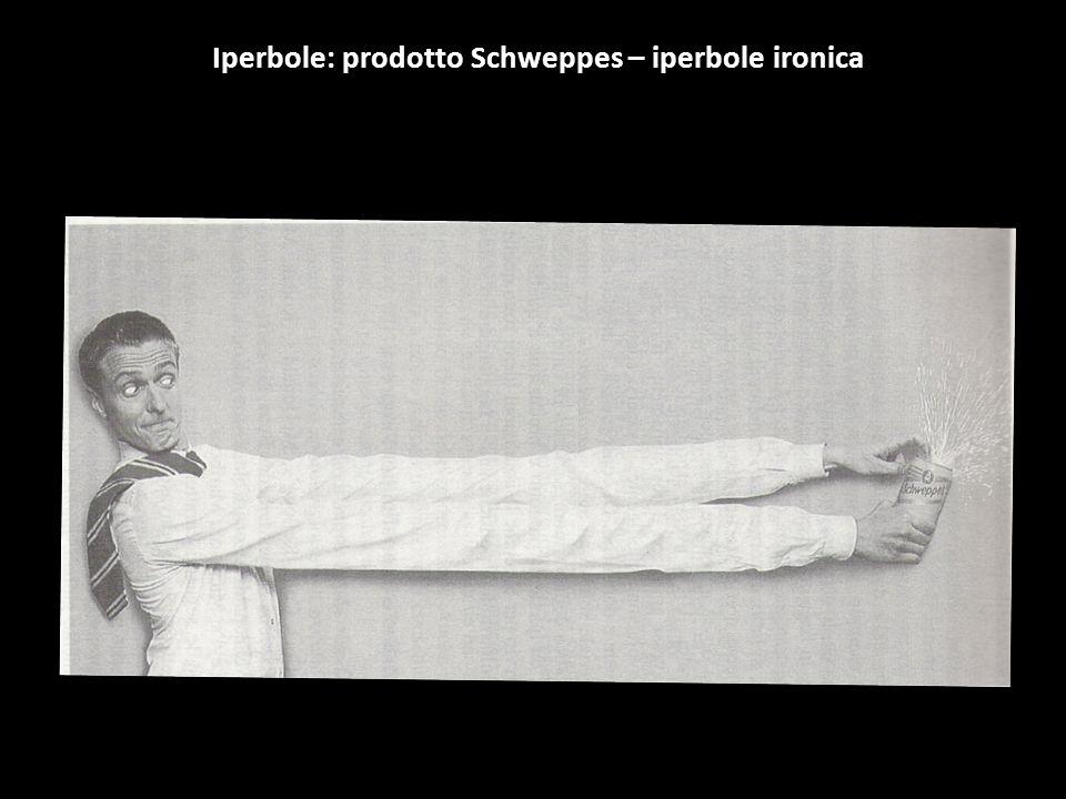Iperbole: prodotto Schweppes – iperbole ironica