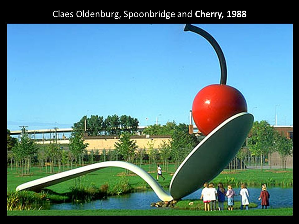 Claes Oldenburg, Spoonbridge and Cherry, 1988