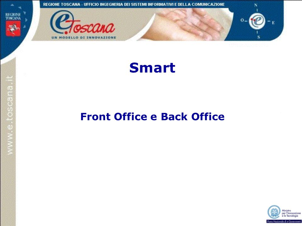 Smart Front Office e Back Office