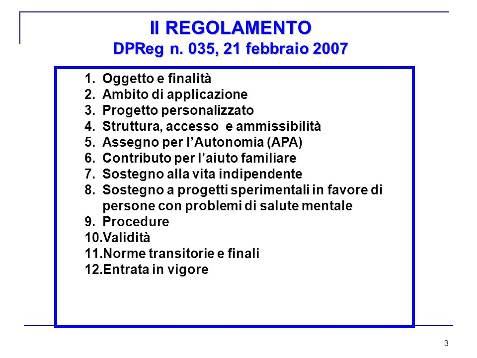 14 INIZIATIVE DI FORMAZIONE ALL'ASSISTENZA FAMILIARE NB.
