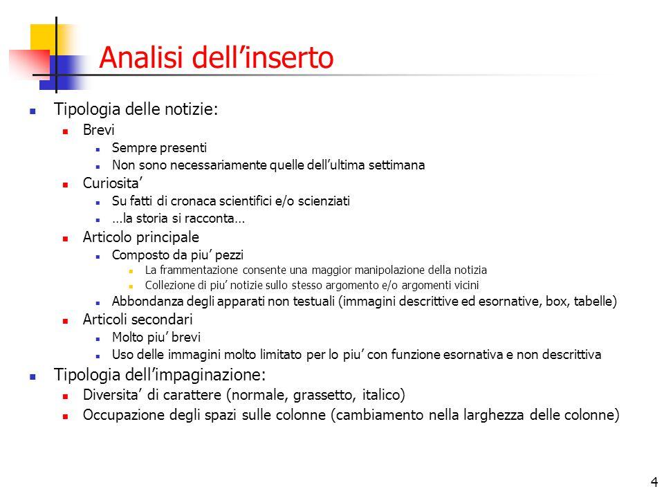 5 Le fonti - 1 Rosetta: Materiale ASI http://www.asi.it/html/ita/news/invsta.doc – invito stampa http://www.asi.it/html/ita/news/invsta.doc http://www.asi.it/html/ita/news/rosdef.pdf – brochure missione http://www.asi.it/html/ita/news/rosdef.pdf http://www.asi.it/html/ita/news/europ_cong.doc – comunicato stampa del 5 febbraio http://www.asi.it/html/ita/news/europ_cong.doc Materiale ESA http://sci.esa.int/science-e/www/area/index.cfm?fareaid=13 - sito scientifico della Missione Rosetta, con tutti I comunicati stampa http://sci.esa.int/science-e/www/area/index.cfm?fareaid=13comunicati stampa http://www.esa.int/export/esaSC/120389_index_0_m.html - sito missione con immagini, testi, video http://www.esa.int/export/esaSC/120389_index_0_m.html Materiale CNES http://193.252.114.90/dossiers/rosetta/index_en.htm – dossier speciale sulla missione http://193.252.114.90/dossiers/rosetta/index_en.htm