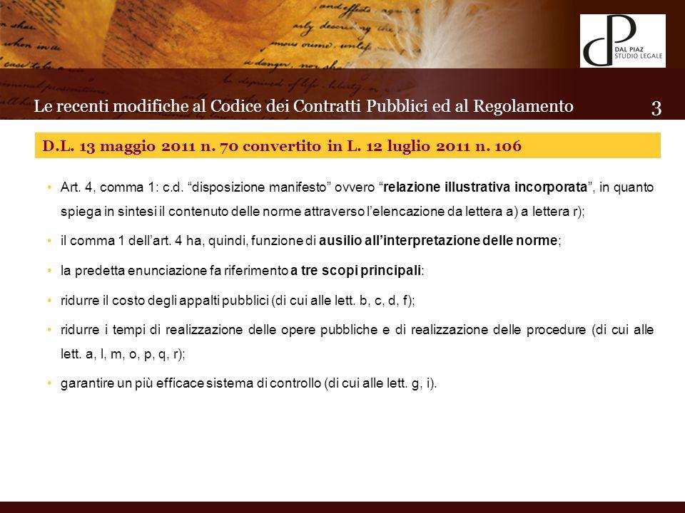 In tema di contratti esclusi: art.27 Codice.