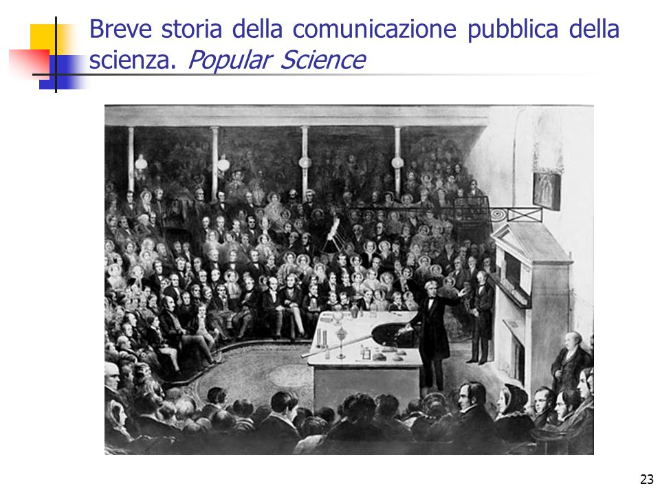 23 Breve storia della comunicazione pubblica della scienza. Popular Science