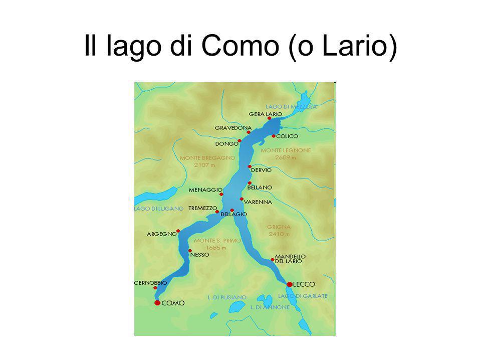 Il lago di Como (o Lario)