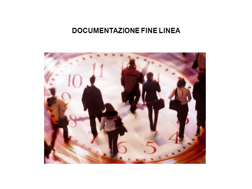 DOCUMENTAZIONE FINE LINEA