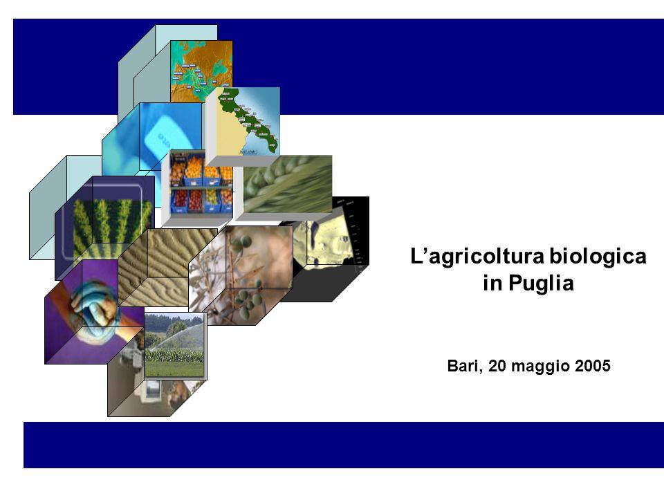 L'agricoltura biologica in Puglia Bari, 20 maggio 2005