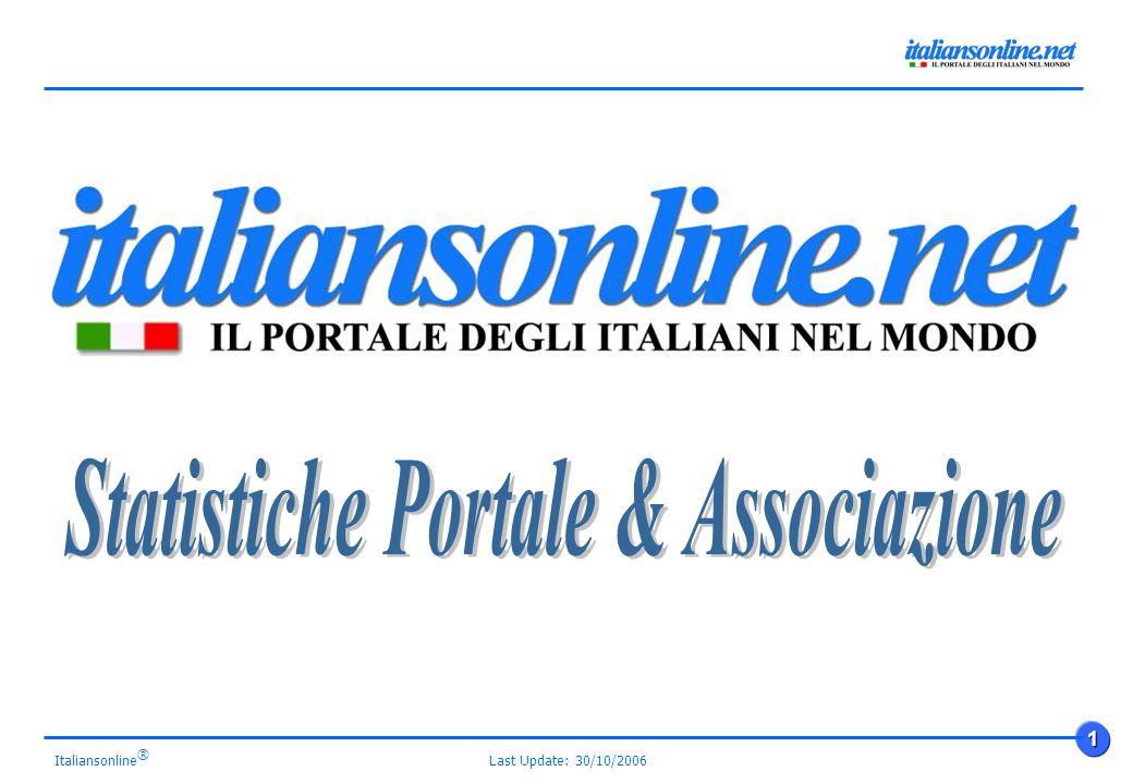 Last Update: 30/10/2006 1 Italiansonline ®