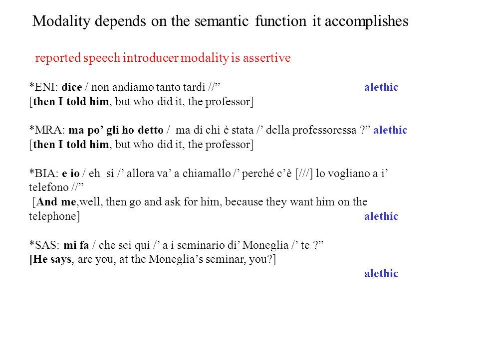 b) Sampling and listing introducer (45) Locutions and Adverbs (insomma, perché, per esempio, prima questione) *TIZ: della serie / i giovani briachi /