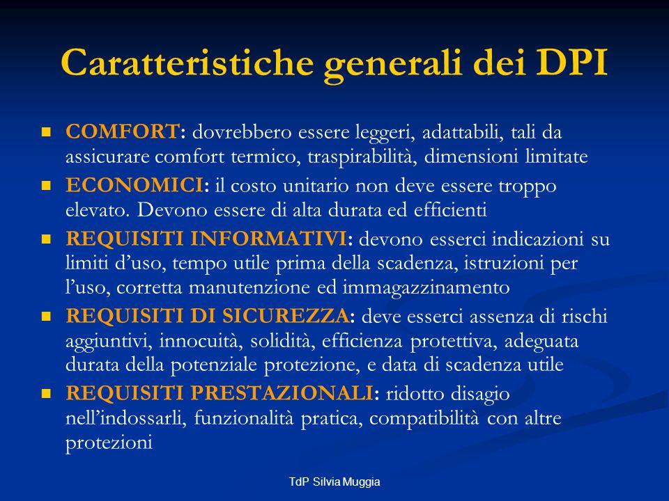 TdP Silvia Muggia Obblighi del datore di lavoro (art.