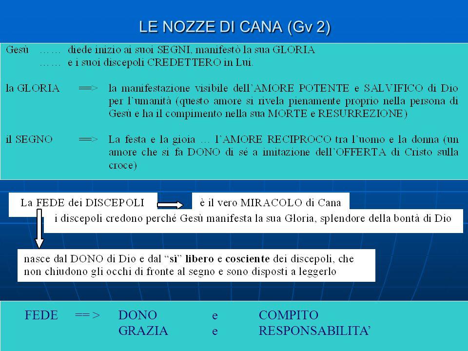 7 IL SECONDO SEGNO DI CANA (Gv 4, 46 – 54) Lo spazio concreto per l'opera di Dio qui non è più la festa, ma l'esperienza della SOFFERENZA.