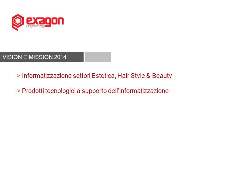 VISION E MISSION 2014 > Informatizzazione settori Estetica, Hair Style & Beauty > Prodotti tecnologici a supporto dell'informatizzazione