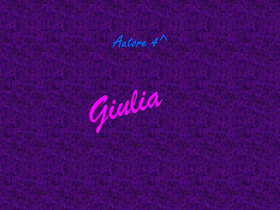 Autore 4^ G i u l i a