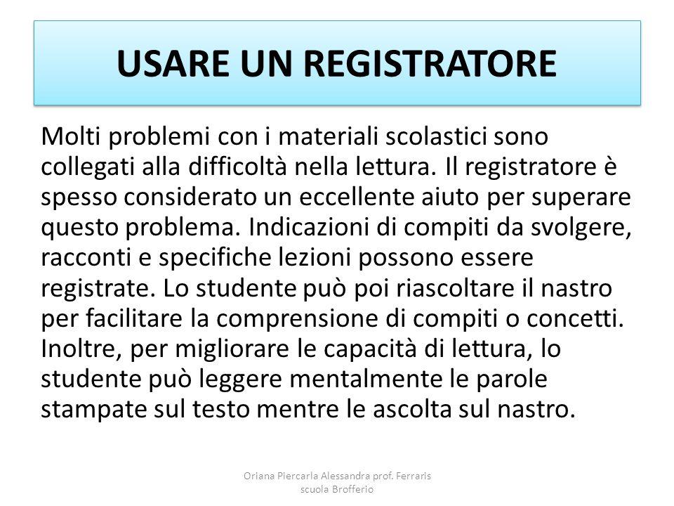 LETTURA LESSICALE Oriana Piercarla Alessandra prof.
