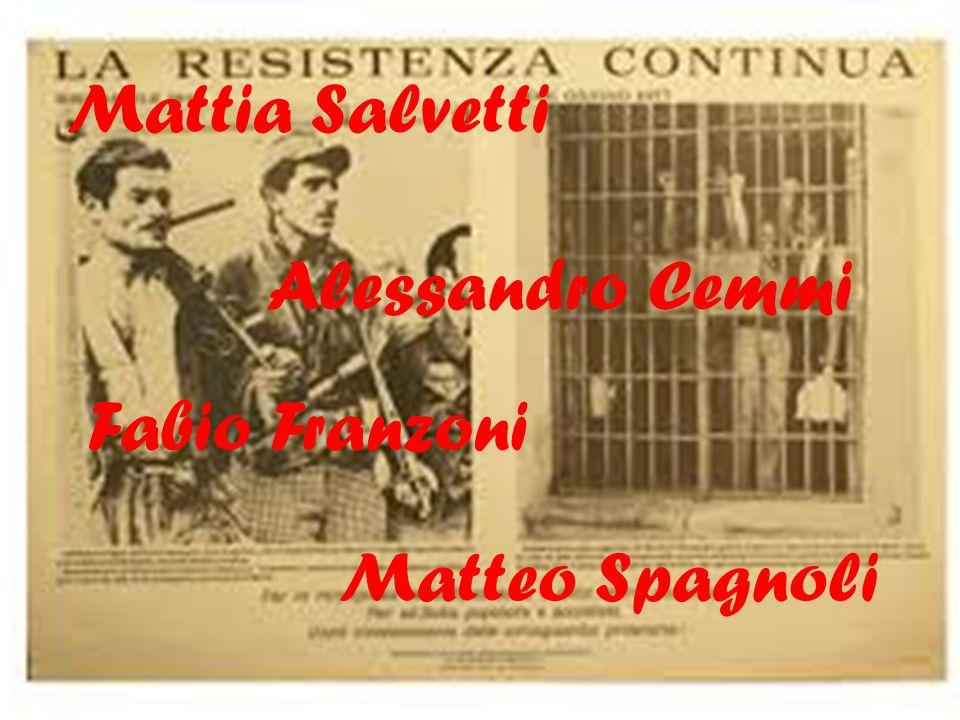 Mattia Salvetti Fabio Franzoni Alessandro Cemmi Matteo Spagnoli