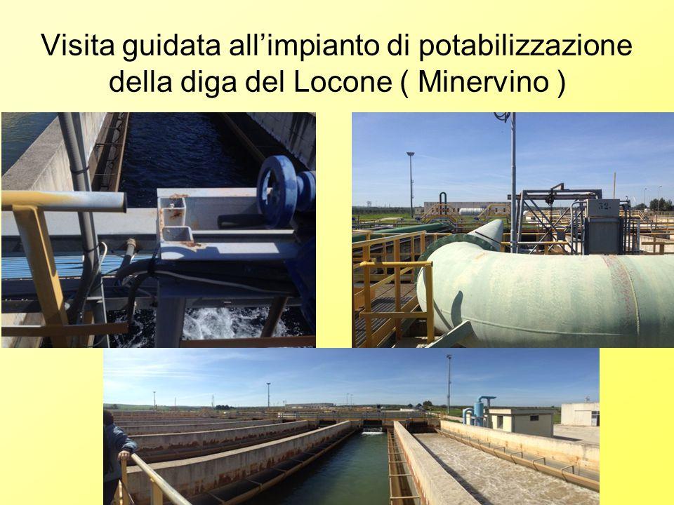 Visita guidata all'impianto di potabilizzazione della diga del Locone ( Minervino )