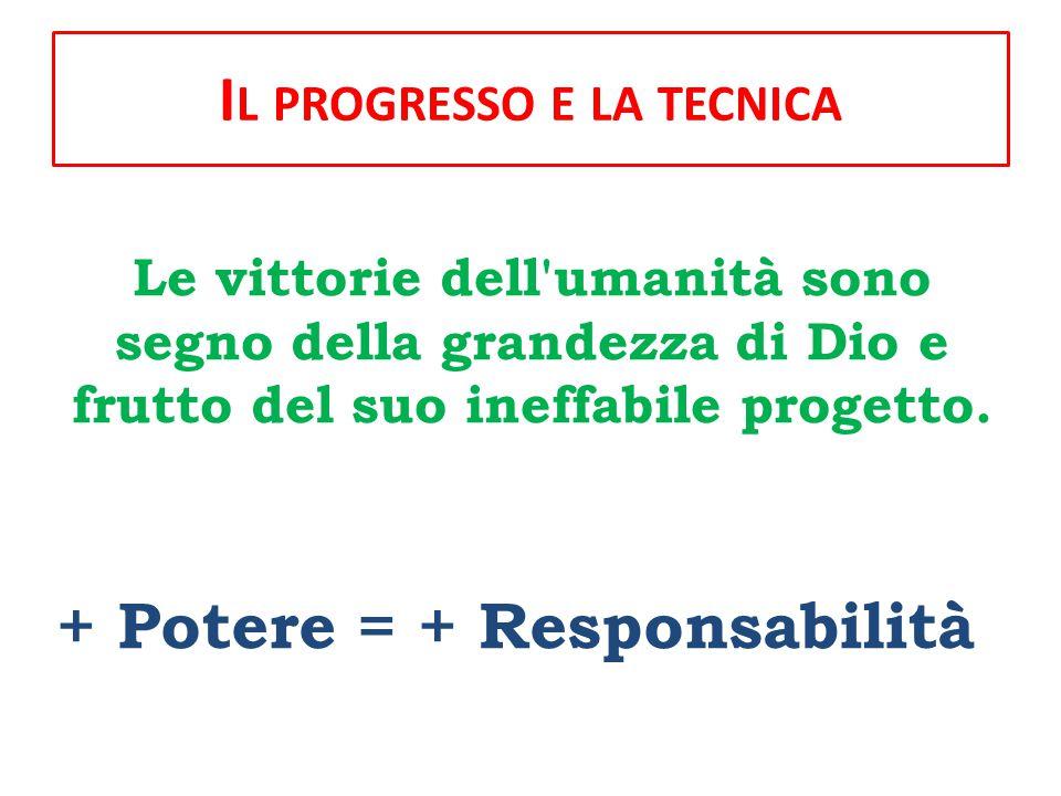 P ARTE TERZA : U NA COMUNE RESPONSABILITÀ