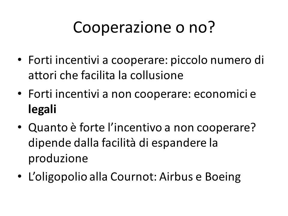 Cooperazione o no.