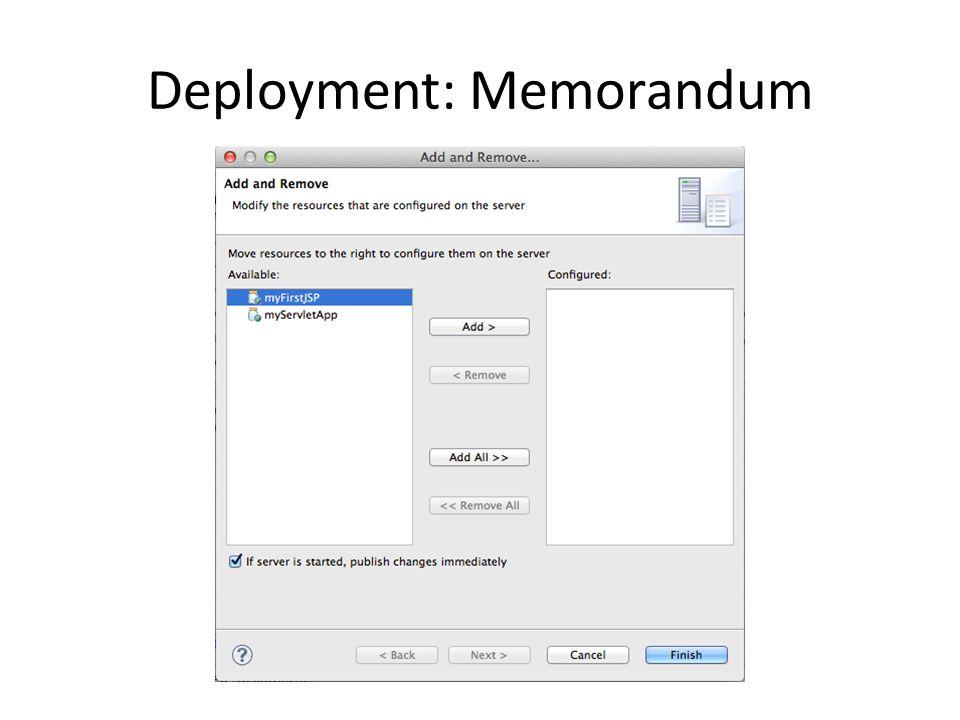 Hello.jsp: Implementazione