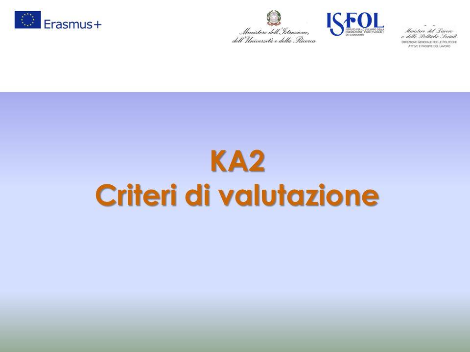 KA2 Criteri di valutazione