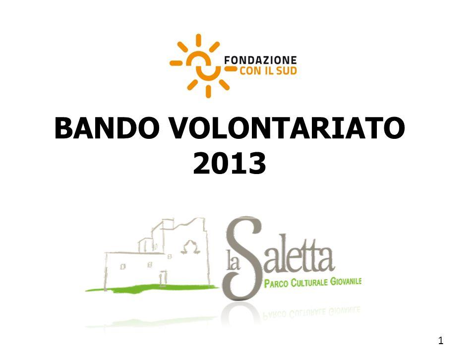 BANDO VOLONTARIATO 2013 1