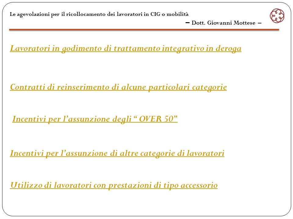 1  Art.4, comma 3, legge n. 236/1993  Art. 4, comma 3, legge n.