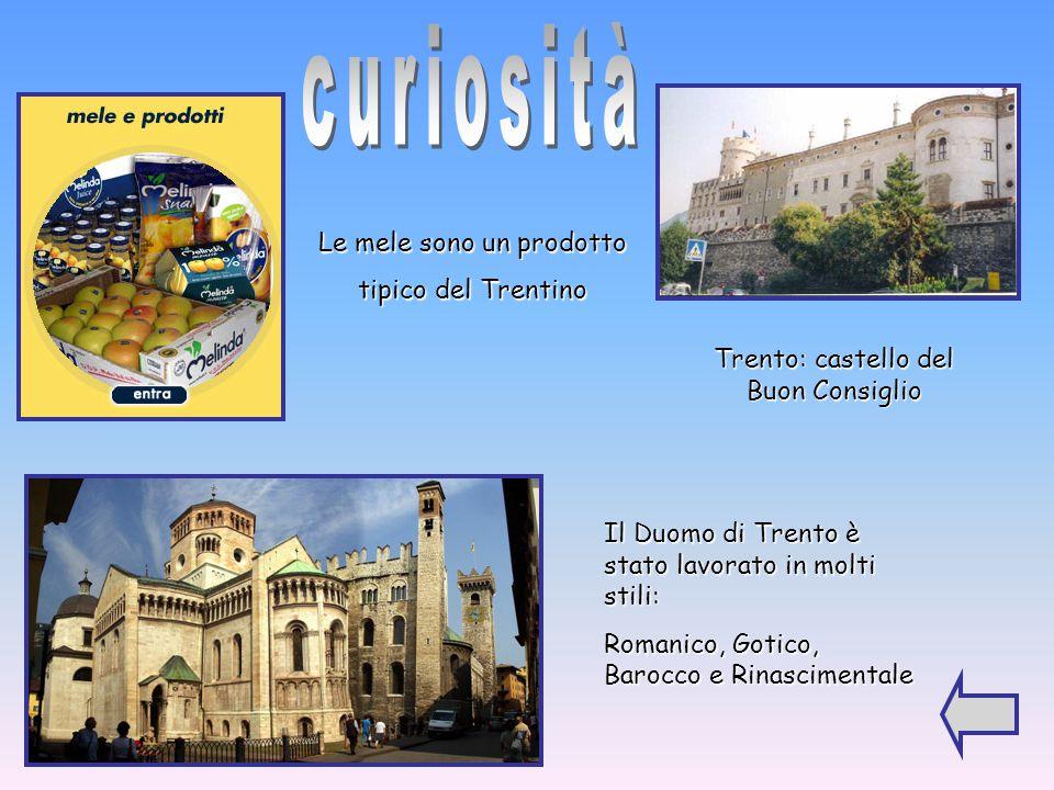 Le province del Trentino sono Bolzano e Trento. Le province di Trento e Bolzano sono a statuto speciale Bolzano Trento N O S E