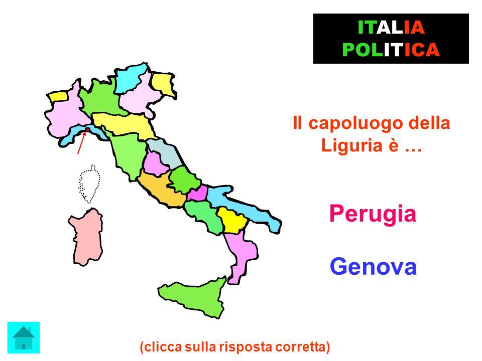 Il capoluogo del Trentino Alto Adige è… Trento BRAVISSIMO! ITALIA POLITICA clicca qui