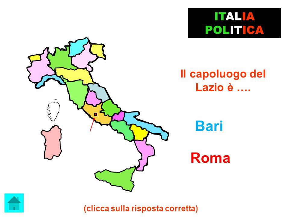 Il capoluogo del Veneto è… Venezia BRAVISSIMO !!! ITALIA POLITICA clicca qui