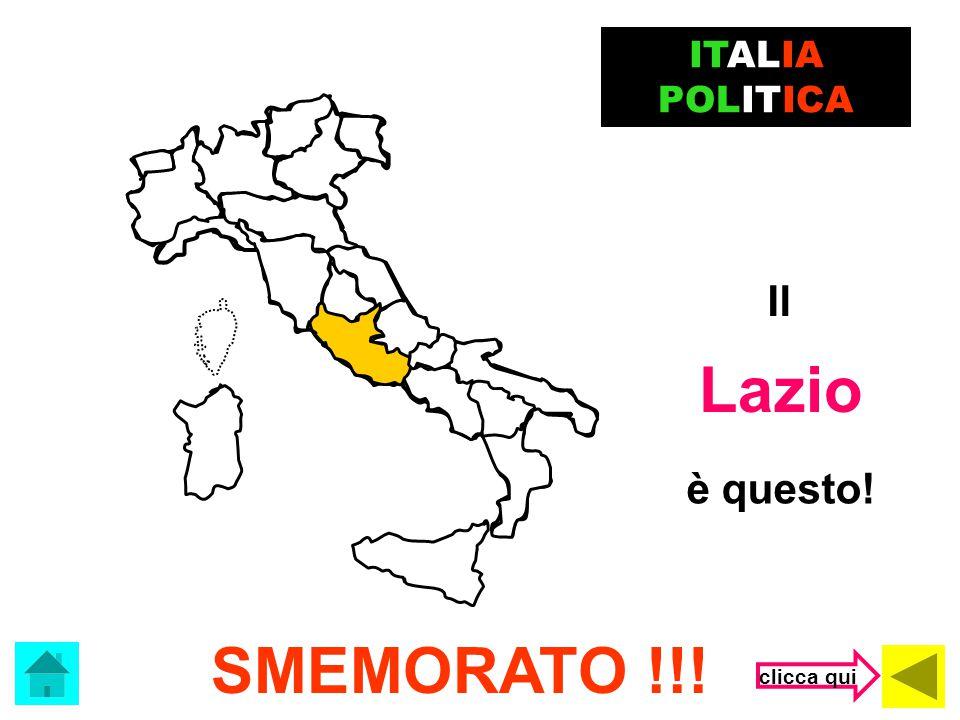 L' Umbria ERRORACCIO !!! ITALIA POLITICA è questa! clicca qui