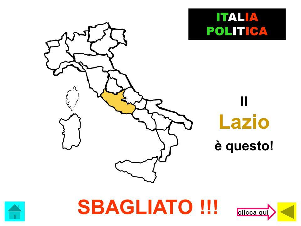 La Sardegna è questa! ERRORE !!! ITALIA POLITICA clicca qui