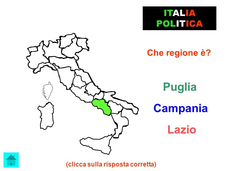 ECCELLENTE!!! Molise ITALIA POLITICA clicca qui