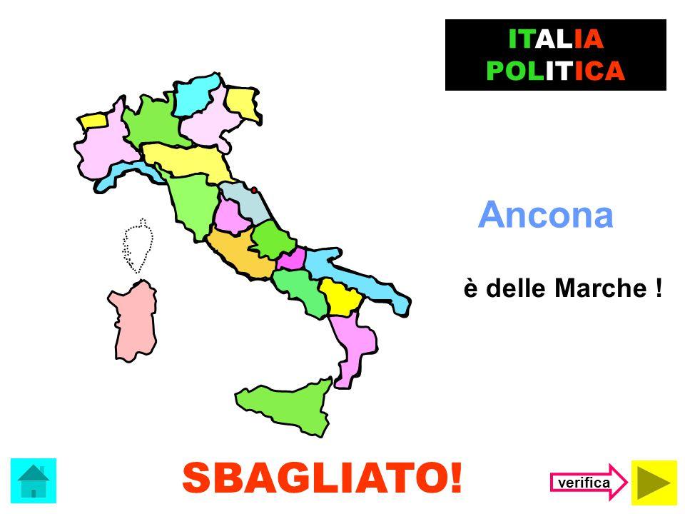 Il capoluogo dell' Abruzzo è …. L'Aquila Ancona ITALIA POLITICA (clicca sulla risposta corretta)