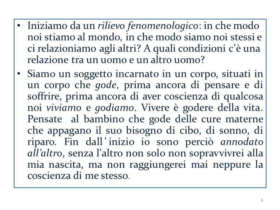 Ad avviso di Levinas l'economia dell'essere è interrotta dall'avvenimento del VOLTO dell'altro uomo.