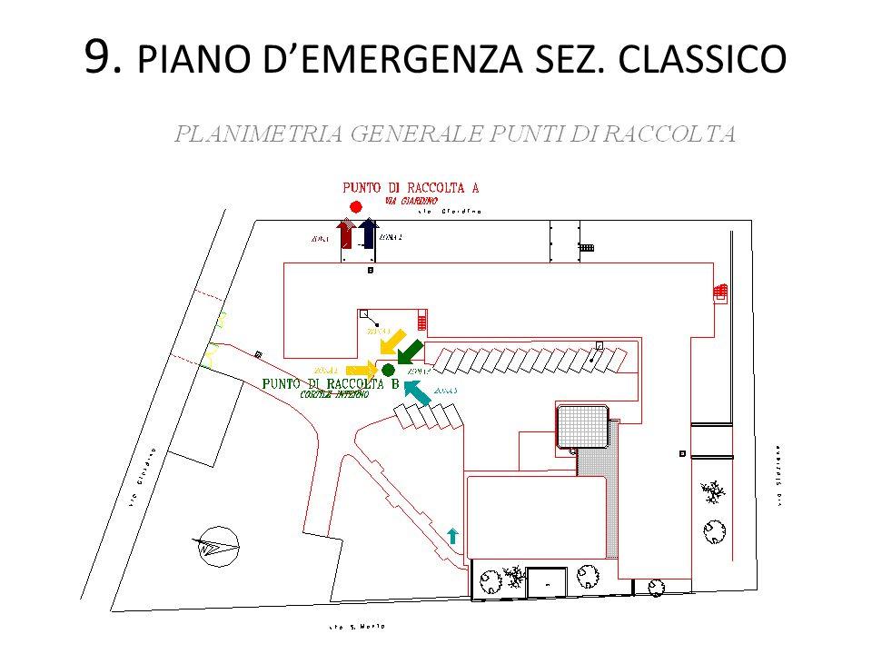 9. PIANO D'EMERGENZA SEZ. CLASSICO
