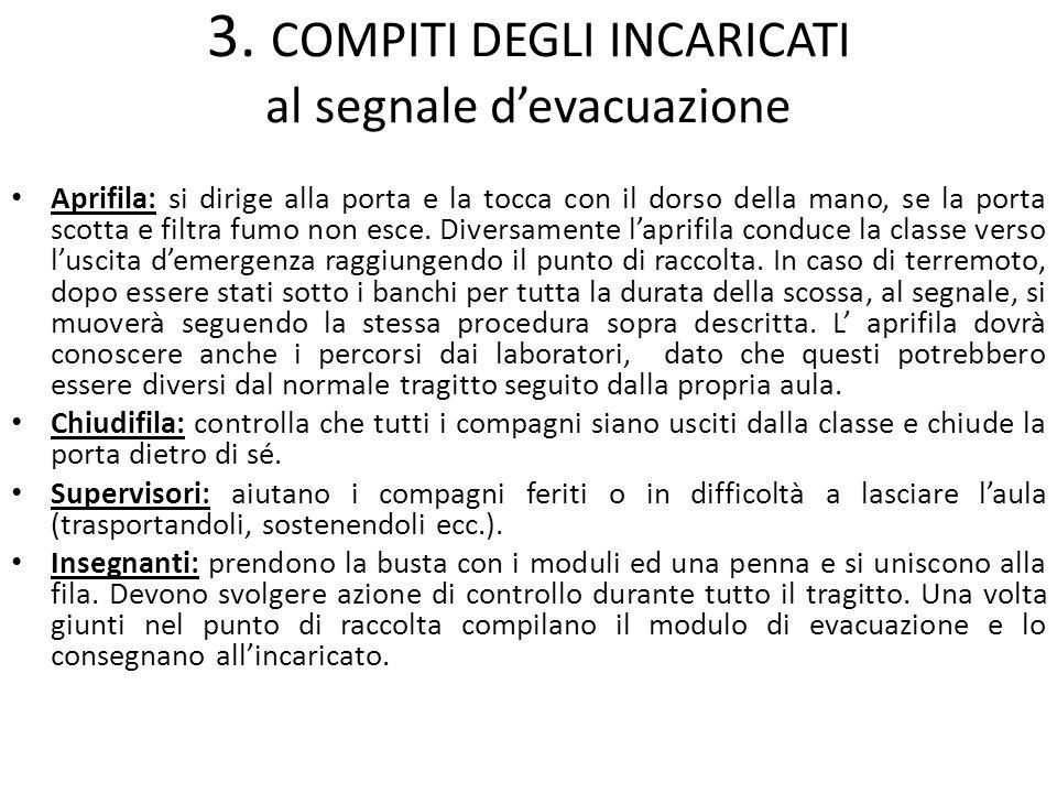 7. 2 VIE DI FUGA - PIANO INTERRATO