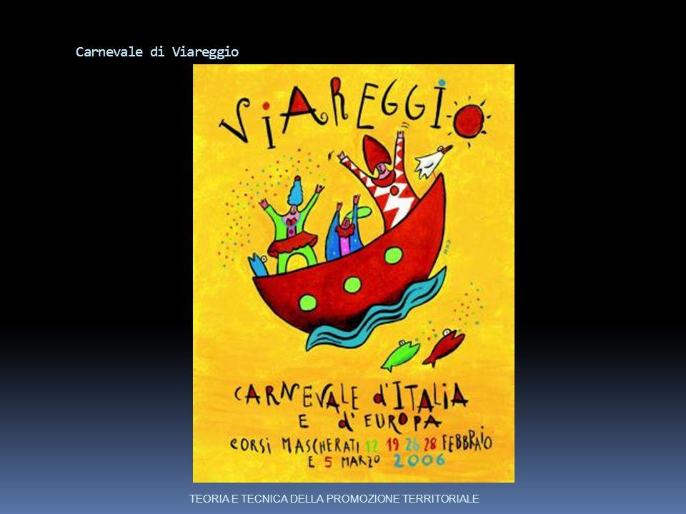 Carnevale di Viareggio TEORIA E TECNICA DELLA PROMOZIONE TERRITORIALE