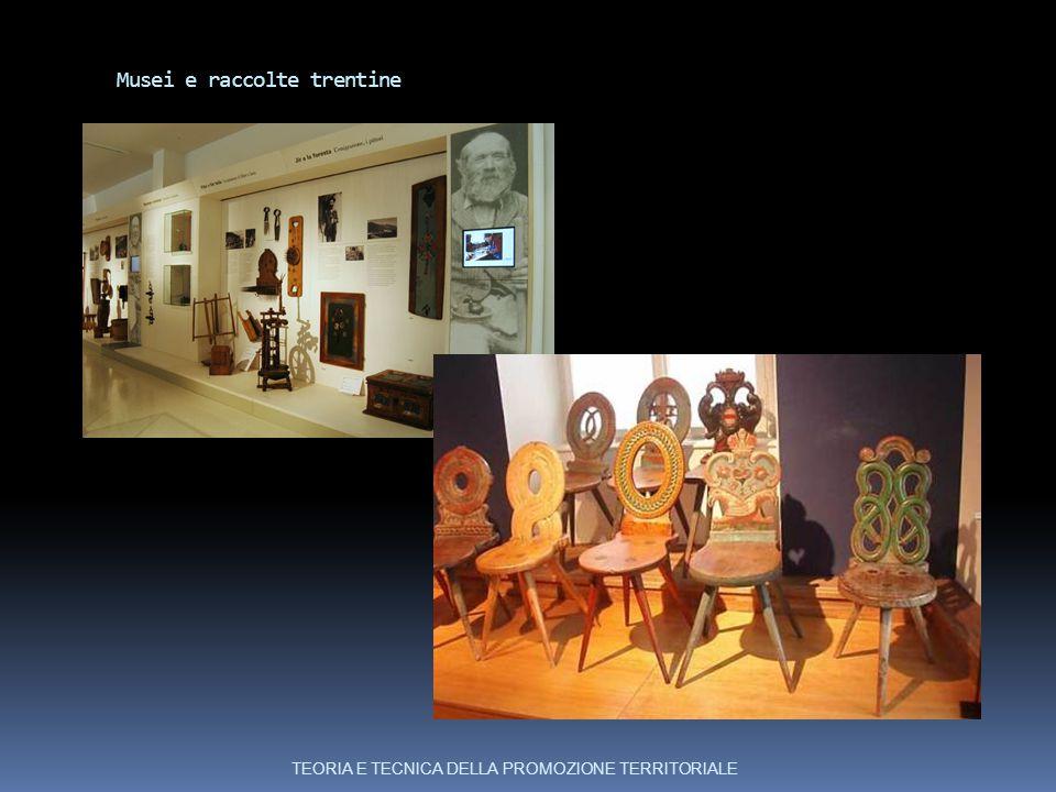 Musei e raccolte trentine TEORIA E TECNICA DELLA PROMOZIONE TERRITORIALE