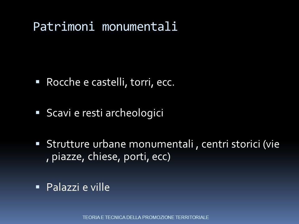 Patrimoni monumentali  Rocche e castelli, torri, ecc.