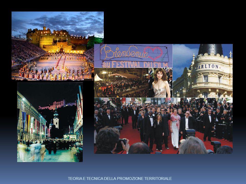 Edinburgo,Cannes, Salisburgo TEORIA E TECNICA DELLA PROMOZIONE TERRITORIALE