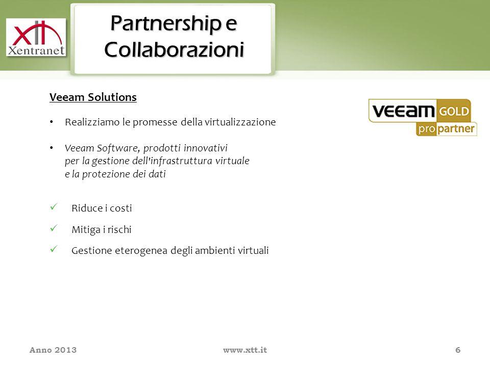 7 Partnership e Collaborazioni: La sicurezza dei contenuti XTT garantisce alle imprese, attraverso opportune soluzioni tecnologiche, la gestione sicura dei loro dati, la salvaguardia dell'integrità della propria rete e l'alta disponibilità delle proprie informazioni, fondamentali per il business del cliente.