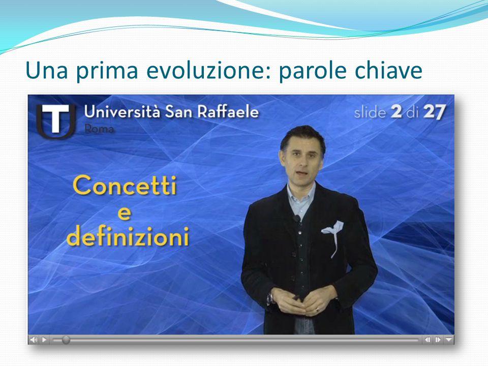 Pregi: Un solo flusso video: maggiore portabilità Limiti: Tempi di produzione elevati Compatibilità (Quicktime) Tracciamento
