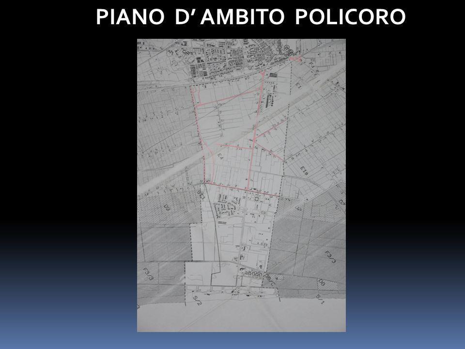 PIANO D' AMBITO POLICORO