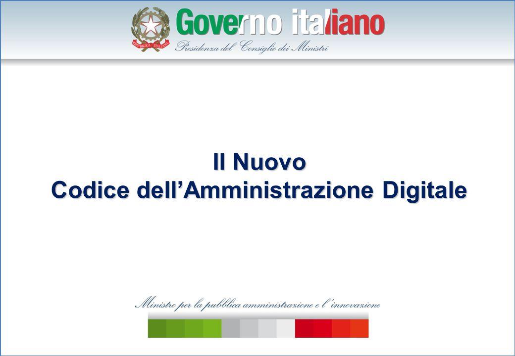 Il Nuovo Codice dell'Amministrazione Digitale
