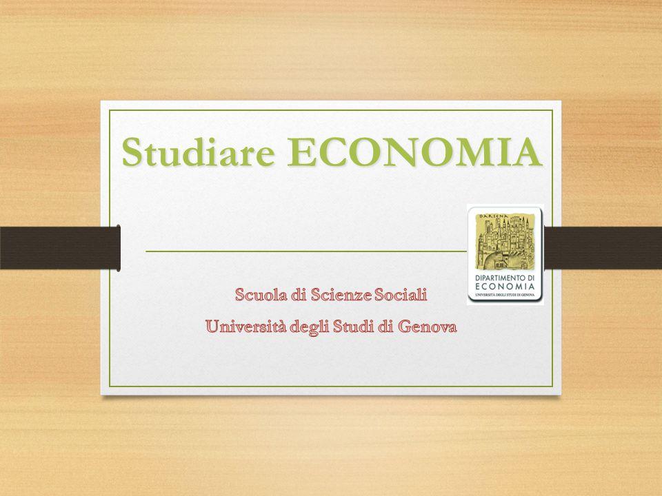 Studiare ECONOMIA