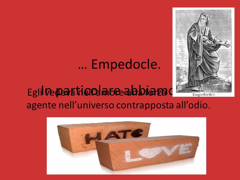 Ogni filosofo ha una teoria diversa, ma trovano un punto di accordo nella concezione dell'amore. Visto come : -un desiderio fisico, -una passione, -un